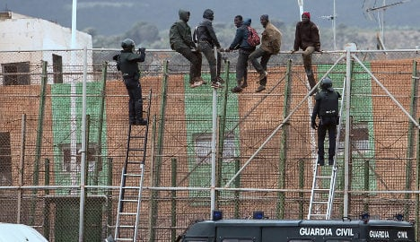 Spain eyes drone patrols to control border fences