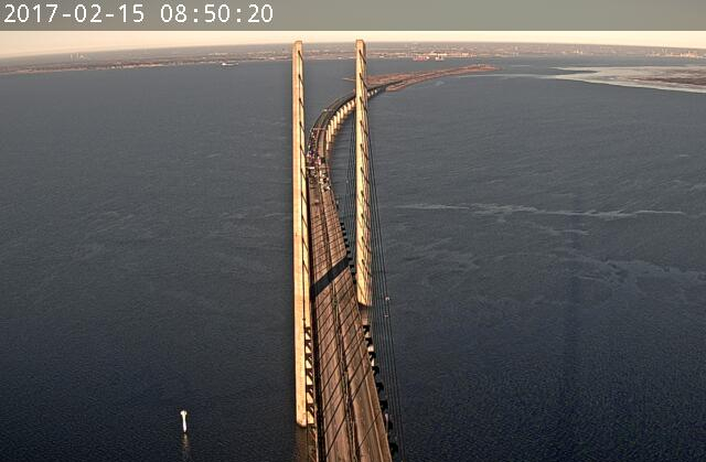 14 injured in crash on Øresund Bridge