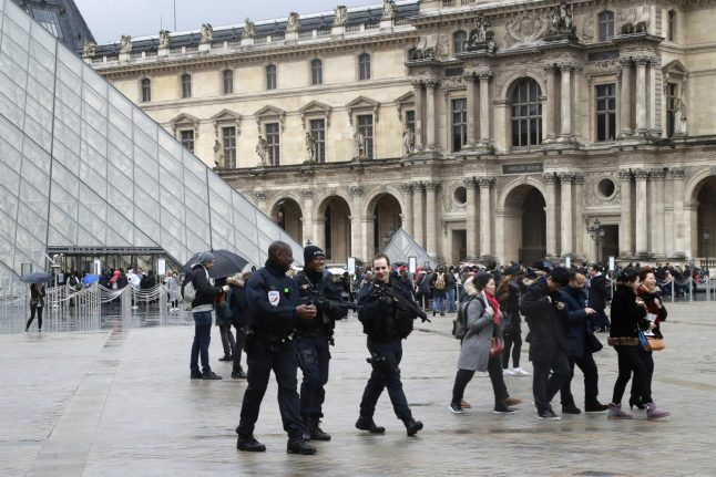 Louvre suspect's father insists son not radicalised