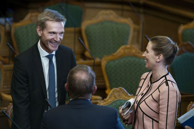 Is a new political alliance forming in Denmark?