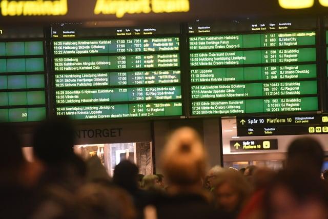 Train bomb scare was false alarm