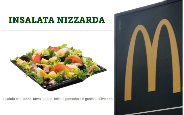 French purists outraged as McDonald's puts potatoes in Salade Nicoise
