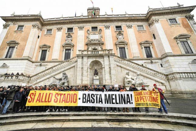 Rome Olympics killer Raggi says yes to new Roma stadium