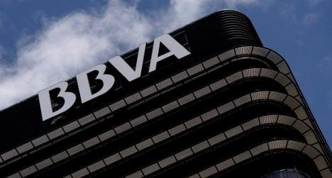 Spanish bank BBVA sees profits rise on cost-cutting