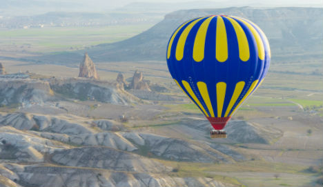 Dane dies after falling from hot-air balloon in Turkey
