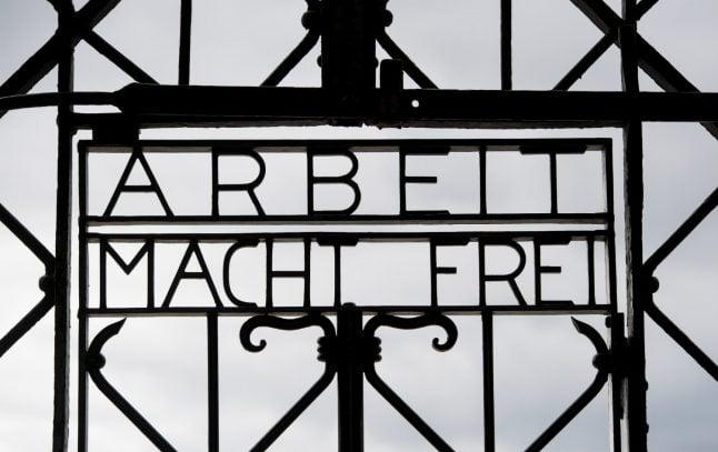 Stolen 'Work will set you free' gate returned to Dachau