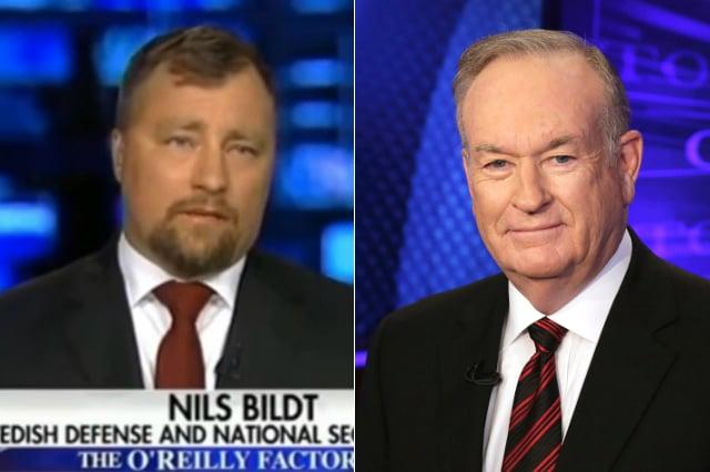 Fox News host Bill O'Reilly responds to Nils Bildt mystery