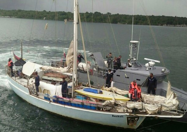 German sailor beheaded by Philippine Islamists