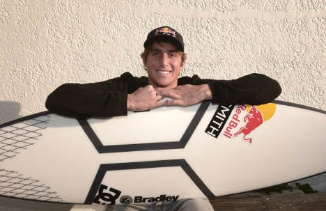 Making waves: the Italian with an eye on surfing glory