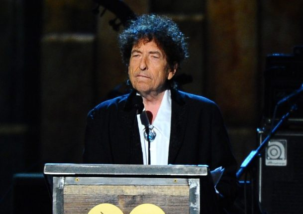 Um, about that Nobel Prize… No word from Bob Dylan ahead of Sweden gigs