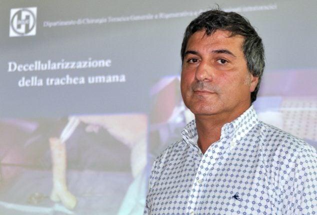 Macchiarini's seventh transplant patient dies