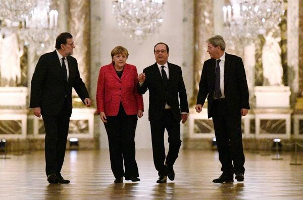 Rajoy backs 'multi-speed' Europe idea at EU 'Big Four' meeting