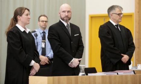 Breivik's isolation 'not inhumane', Norway appeals court rules