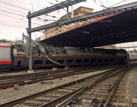 Lucerne station remains closed after derailment