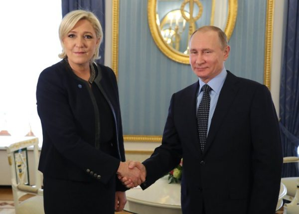 Russia 'actively interfering' with French elections, warns US senator