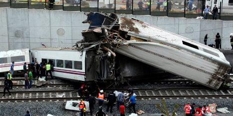 Spain ex-rail boss charged over Santiago train crash that killed 80