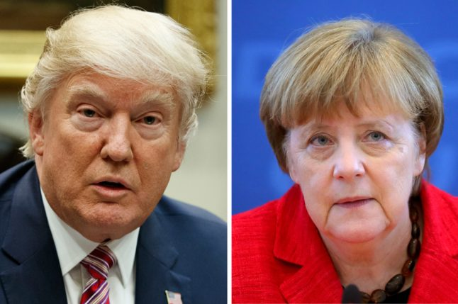 Merkel's first meeting with Trump postponed due to snow storm