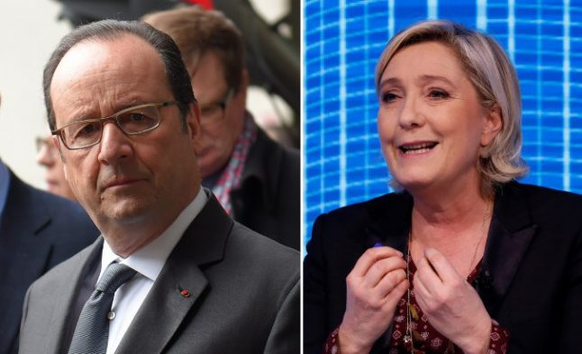 Marine Le Pen really could become president, warns Hollande