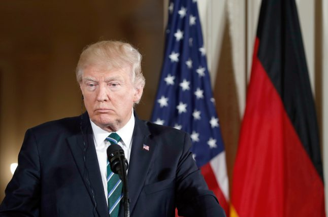 Most Germans think Trump won't last four years in office