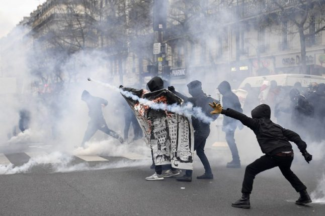 Paris sees clashes in protests against police brutality
