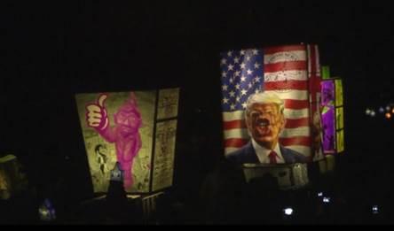 IN PICS: Basel carnival parade targets Trump