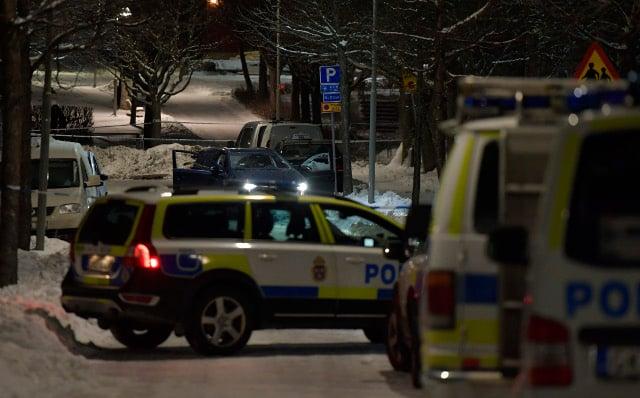 Two men killed in Stockholm shooting