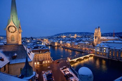 Survey: Zurich STILL most expensive city in Europe