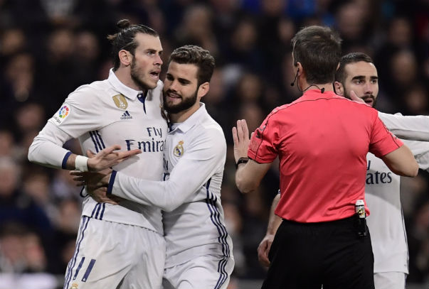Gareth Bale sees red for first time in Madrid career