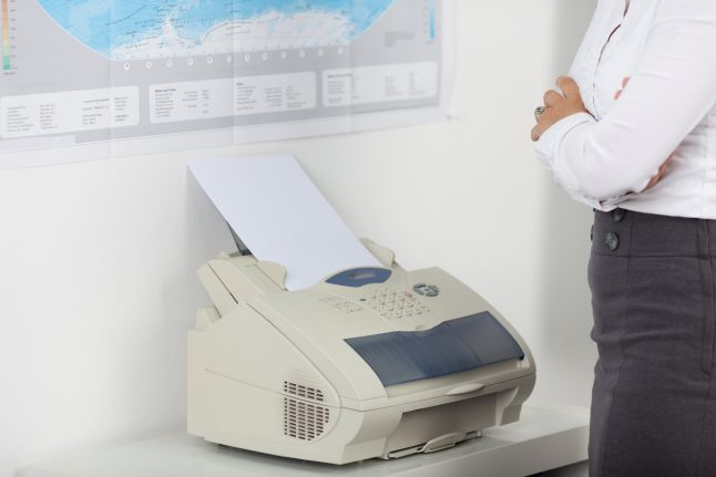 Stuck in the 80s: 70 percent of German firms still use fax machines