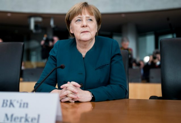Merkel: I learnt about VW 'dieselgate' scandal through media