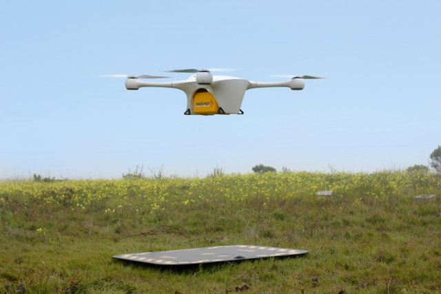 Swiss Post trials drone deliveries between hospitals