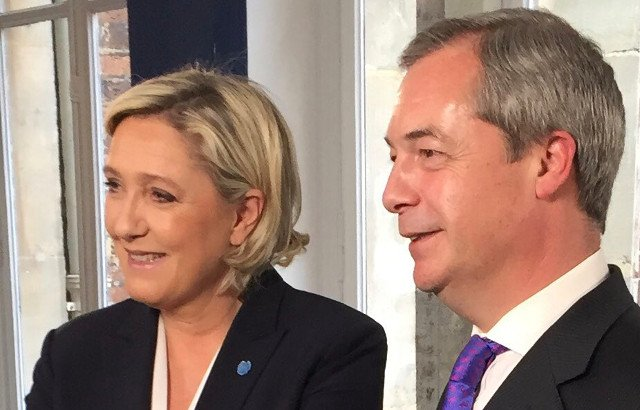 Marine Le Pen tries to reassure worried Brits in France (but they're having none of it)