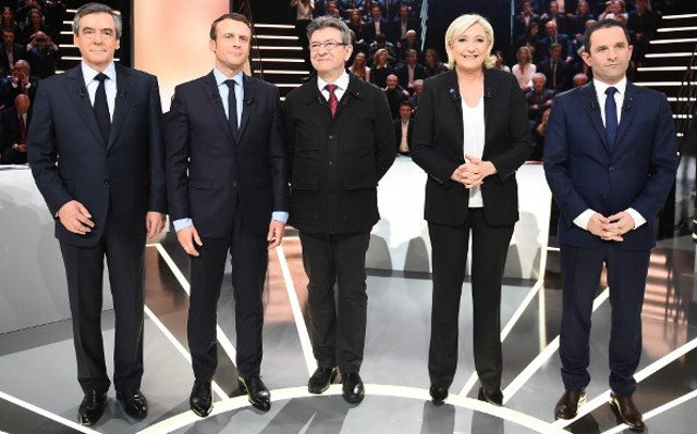 Who were the winners and losers of the marathon French presidential debate?
