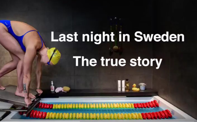 New photo project will show Trump what really happened 'last night in Sweden'