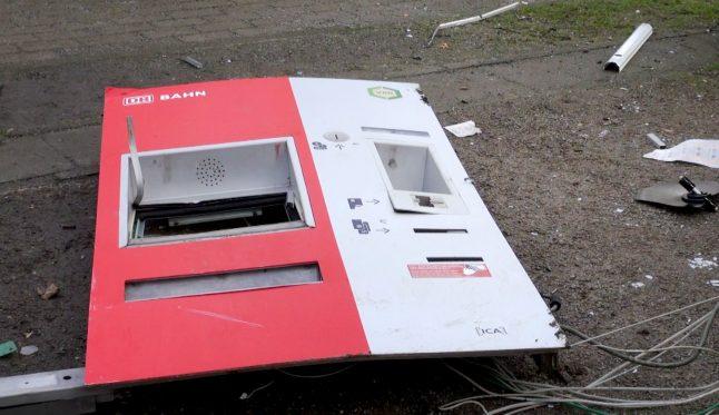 Man dies in ticket machine explosion at Dortmund station