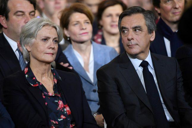 Fillon's wife breaks silence over 'fake jobs' scandal