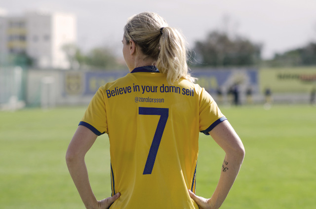 'Women can do anything they decide to': Sweden team sends a message with new shirts