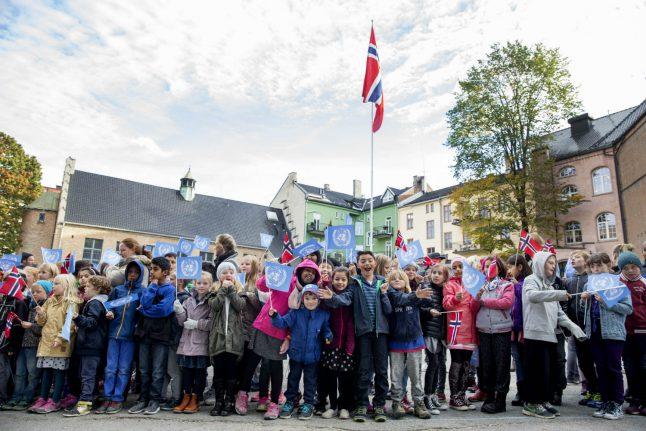 Ten percent of Norwegian children live in low income homes