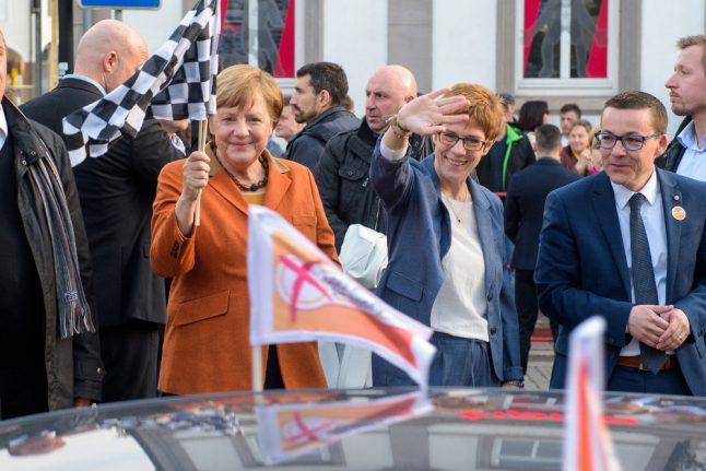 Merkel's party wins German state vote by large margin