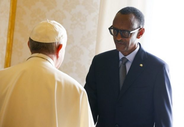 Pope begs forgiveness for Church role in Rwanda genocide