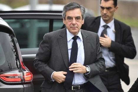 France's Fillon faces queries over cash for bespoke suits