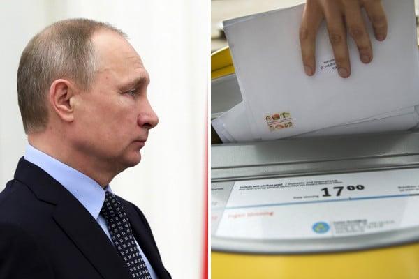 Swede accidentally receives Vladimir Putin's mail