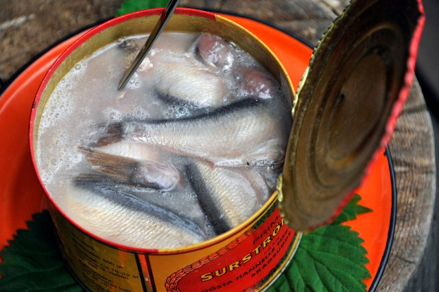 Swedish agencies hit by stinky fermented herring attack