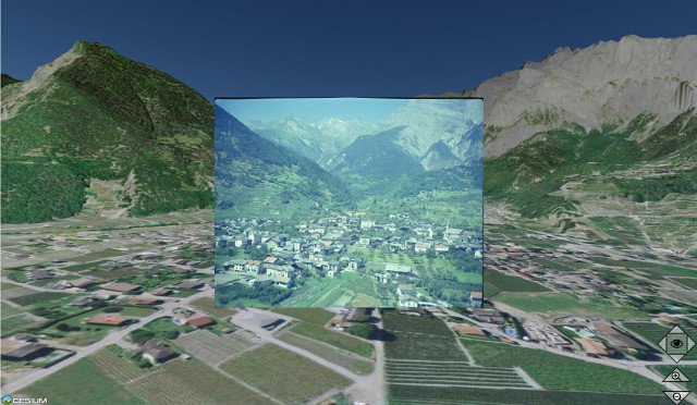 EPFL photo-mapping project reveals 1960s Switzerland