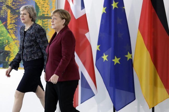 Germany 'stands resolutely' with Britain in terror fight: Merkel