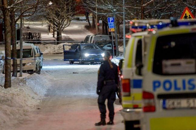 Stockholm double murder suspect arrested in Denmark