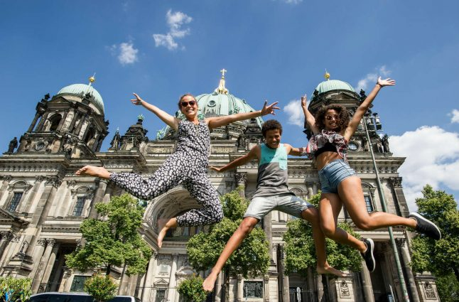 German happiness hits record high thanks to the Ossis