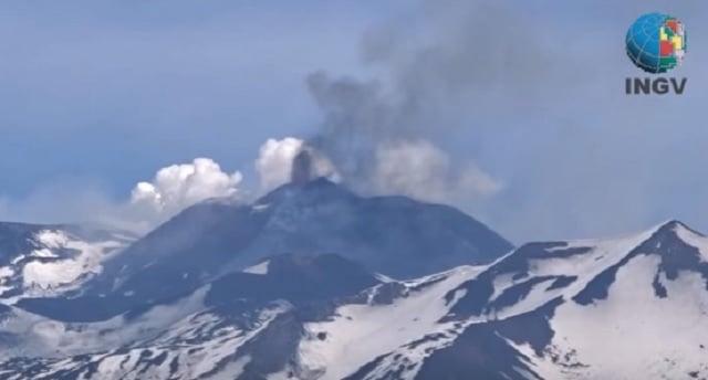 Ten injured in volcanic explosion at Mount Etna