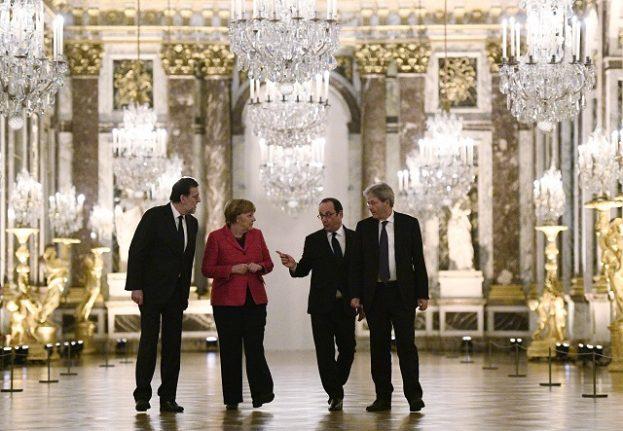 Italy PM backs 'multi-speed Europe' at EU 'Big Four' meeting