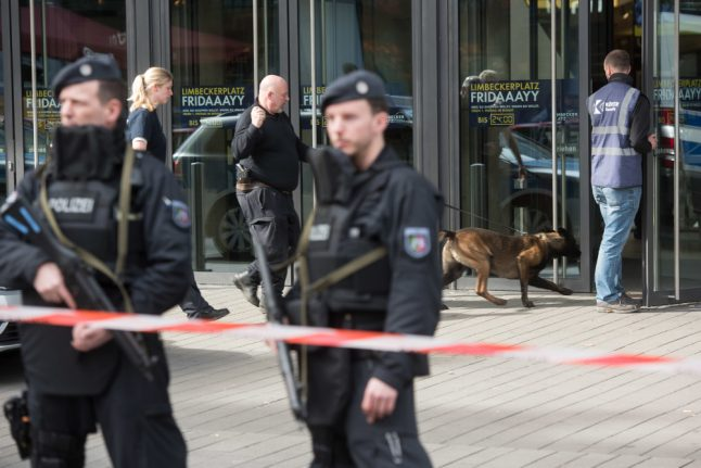 Police free second suspect in Essen mall attack threat